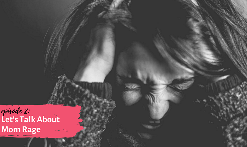 mom pulling on her hair | postpartum depression